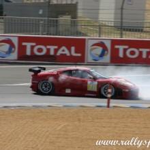 Les Photos de Patrick Dempsey de Grey's Anatomy lors des essais au Mans