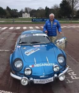 Philippe FLAMENT et son Alpine 1600 S